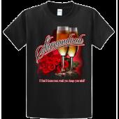 Shenandoah Black 2 Dozen Roses Tee