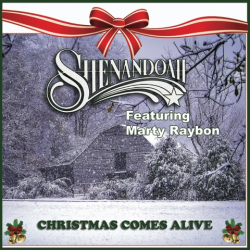 Shenandoah AUTOGRAPHED EP- Christmas Comes Alive  featuring Marty Rabon