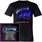Shenandoah 30th Anniversary Black Tour Tee