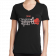 Shenandoah Ladies Jet Black V Neck Tee